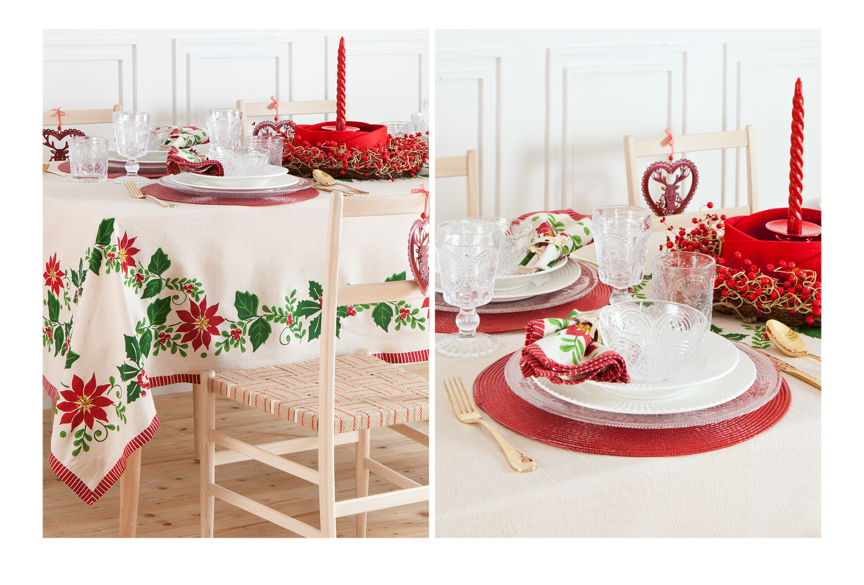 Christmas Is On The Table Life Xmas Colori In Bianco