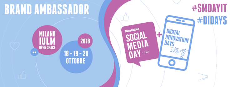 #SMDAYIT 2018 - Brand ambassador